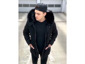 Bunda Fur Black